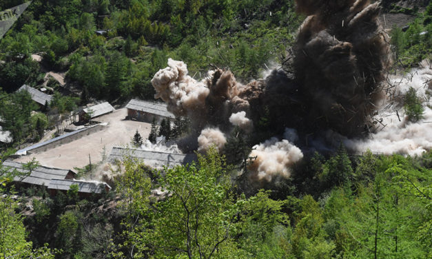 Kim Invites Inspectors to Confirm Dismantling of Nuclear Test Site – State Dep't
