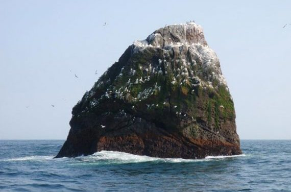 Historian Claims a Tiny Atlantic Rock is Actually the Tip of Atlantis