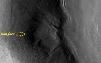 Lion face on Mars. MATTEO IANNEO Italian Researcher © [VIDEO]