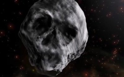 Eerie 'death comet' with a SKULL face will zip past Earth just after Halloween [VIDEO]