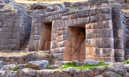 Melted Stonework In Peru ~ Proof Of Ancient War?