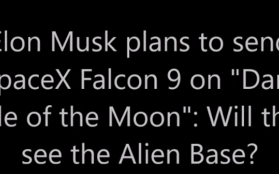 "Elon Musk plans to send SpaceX Falcon 9 on ""Dark Side of the Moon"": Will they see the Alien Base? [VIDEO]"