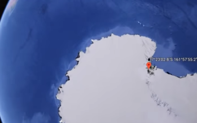 Google Earth user found Strange Structure in the Transantarctic Mountains [VIDEO]