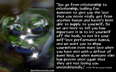 Love Yourselves Unconditionally ∞The 9th Dimensional Arcturian Council