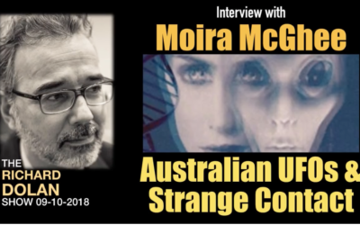 Australian UFOs and Strange Contact Guest Moira McGhee – The Richard Dolan Show [VIDEO]