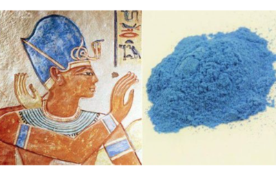 How ancient Egyptian blue emits near-infrared light and how that could boost energy efficiency