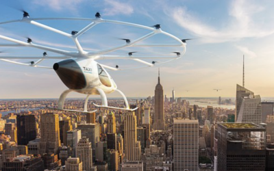 Driverless flying taxis will begin test flights over Singapore next YEAR