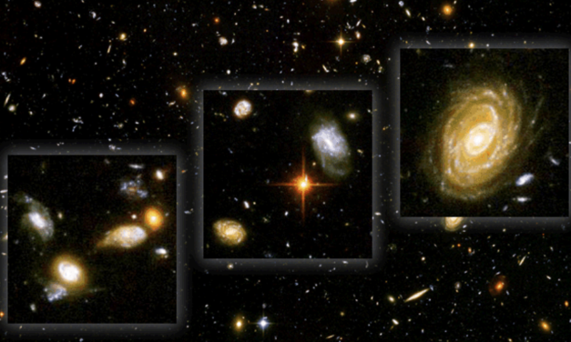 Ponder the Mind-Blowing Scale: What the Hubble Deep Space Field Photos Show about the Size of Our Universe