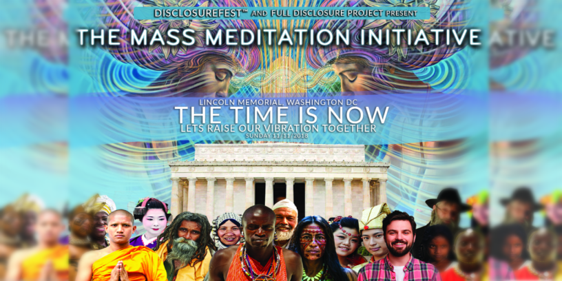 You're Invited! FREE Event and Mass Meditation at the Lincoln Memorial on 11/11