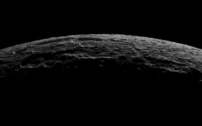 Saturn's Moon Dione Covered In Bizarre Stripes Like No Other Moon In Solar System