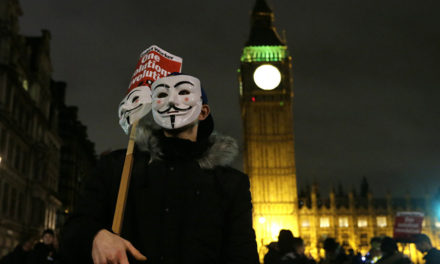 Million Mask March London Plan to Show 'Contempt' for 'Those Who Govern us'