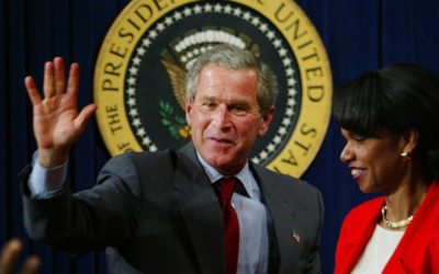 'Criminal!' Indignation as George W. Bush Awarded Liberty Medal for Veteran Work