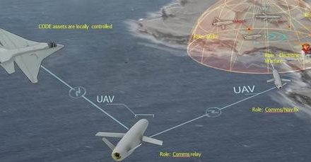 "DARPA Successfully Tests AI ""Swarming Drones"" That Can Make Battlefield ""Decisions"""
