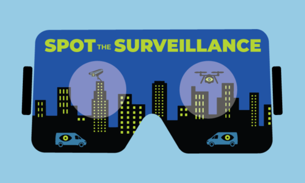 Spot the Surveillance: A VR Experience for Keeping an Eye on Big Brother