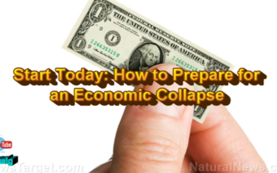 Start Today: How to Prepare for an Economic Collapse [VIDEO]