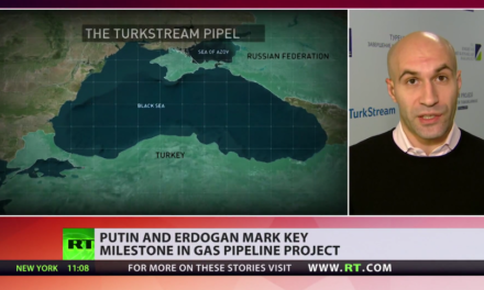 Russia & Turkey officially complete construction of joint gas pipeline [VIDEO]