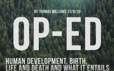 Thomas Williams – Human development, birth, life and death and what it entails [VIDEO]