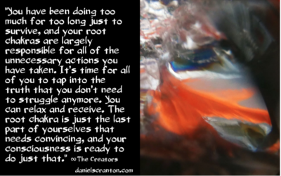 A Higher Frequency in Your Root Chakra ∞The 9th Dimensional Arcturian Council