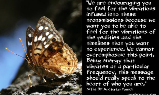 Feel Our Vibration ∞The 9th Dimensional Arcturian Council