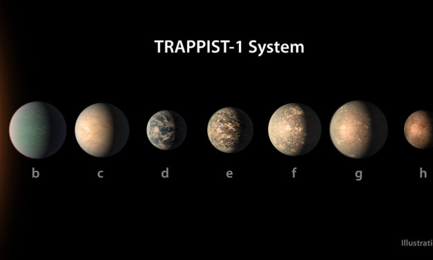Astronomers Find One of TRAPPIST-1's Planets Is Home To Vast Oceans