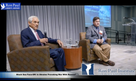 Ron Paul on the Black Sea Face-Off: Is Ukraine Provoking War With Russia? [VIDEO]