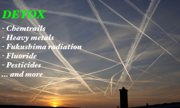 5 Miracle Products to Keep You Safe from Chemtrails, Heavy Metals and Fukushima Radiation