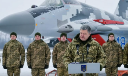 Ukraine Cites Massive Buildup Of Russian Forces Along Border As Reason for Martial Law [VIDEO]
