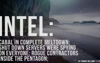 Cabal in complete meltdown; Shut down servers were spying on everyone; Rogue contractors in Pentagon [VIDEO]