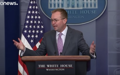 Trump appoints Mick Mulvaney as temporary Chief of Staff [VIDEO]