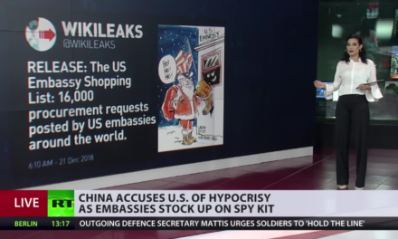 Spy ties, caps & buttons: China accuses US of covert surveillance [VIDEO]