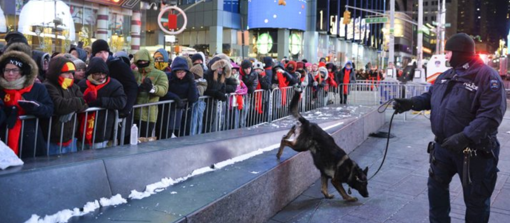 NYPD drone to oversee Times Square revelry