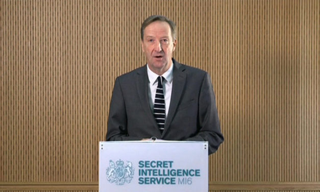 "MI6's Spymaster Revealed How The UK Is Conducting ""Fourth Generation Espionage"""