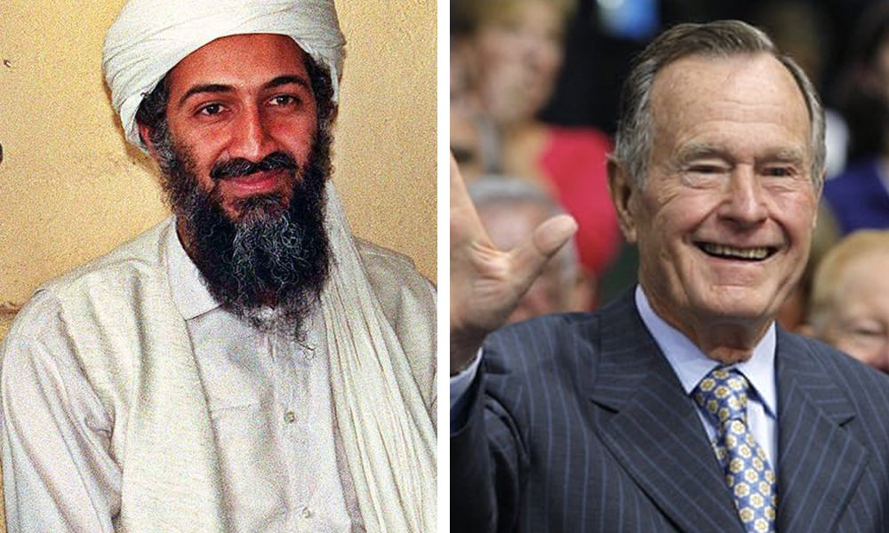 George H. W. Bush Met With The Bin Laden Family On The Morning of 9/11