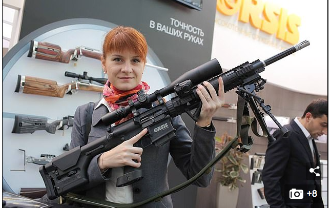 Moscow says the U.S. forced Maria Butina to falsely confess that she's a Russian agent