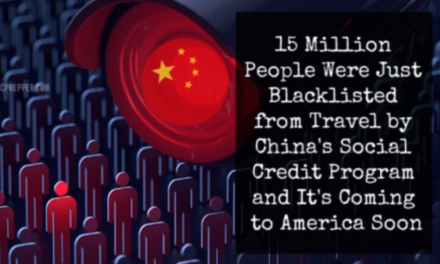 15 Million People Were Just Blacklisted from Travel by China's Social Credit Program and It's Coming to America Soon