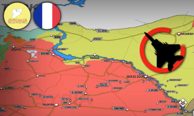 FRANCE PLANS TO REPLACE US FORCES IN SYRIA