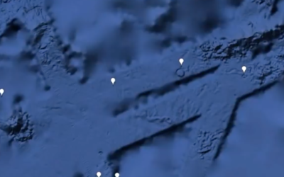 Ancient Mega Structure Found On Sea Floor – Google Earth [VIDEO]