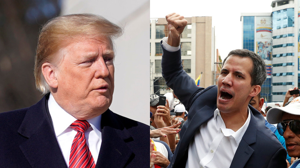 Trump recognizes US-backed head of Venezuela's opposition Juan Guaido as country's interim president