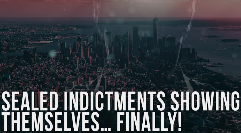 Sealed Indictments Showing Themselves… Finally! [VIDEO]