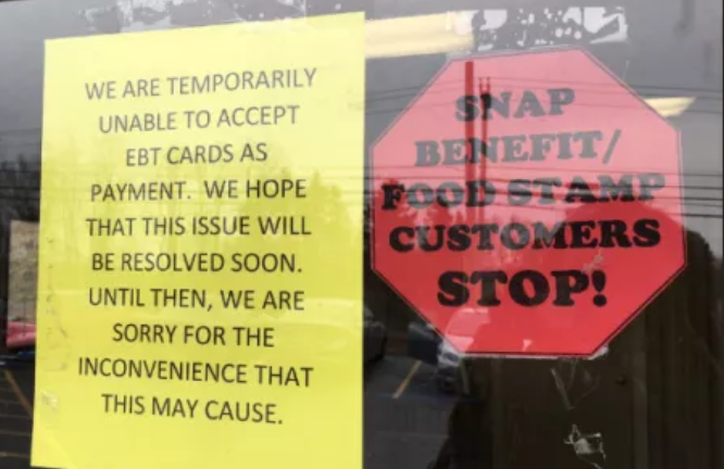 It's STARTING: A Grocery Store in Indiana SAYS They Can't Process Food Stamp Payments Due to Govt. Shutdown