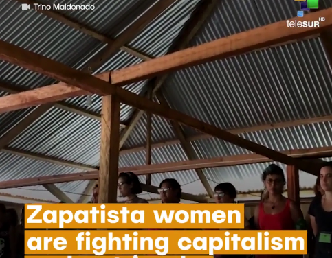 Zapatista women are organizing to fight capitalism and patriarchy [VIDEO]