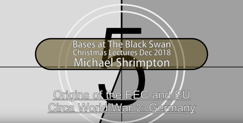 Michael Shrimpton WW2 Origins of the EU [VIDEO]