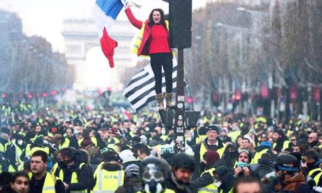 THE YELLOW VEST MOVEMENT HAS SPREAD LIKE WILDFIRE ACROSS THE WORLD