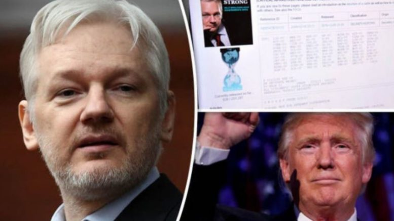 Julian Assange Sues Trump Administration To Reveal Charges Against Him; WikiLeaks Associates Being Interrogated