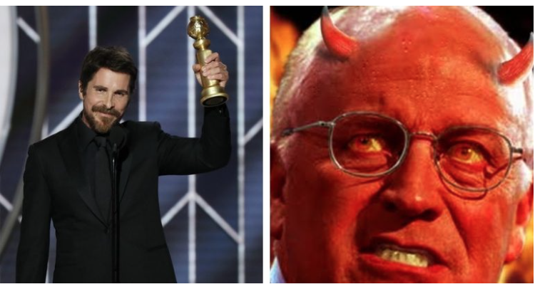 Christian Bale Thanks Satan for Inspiration in Dick Cheney Role