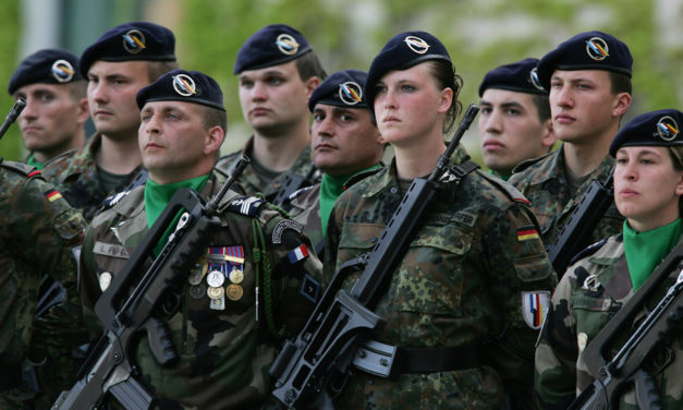 "France and Germany: ""We Are Committed to the Emergence of a European Army"