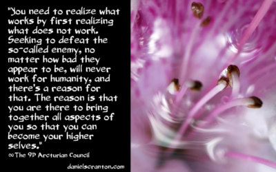 Defeating Others is not a Part of the Shift ∞The 9th Dimensional Arcturian Council