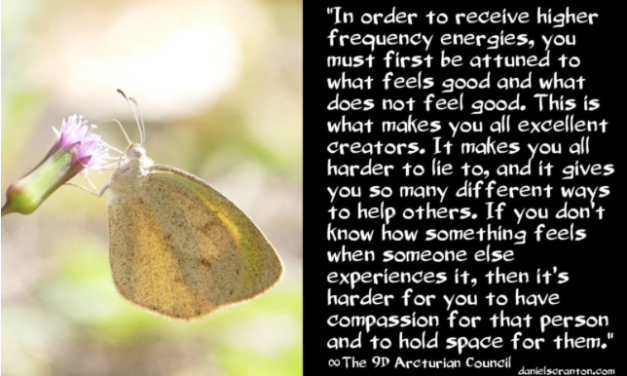 You Receive Because You Feel ∞The 9th Dimensional Arcturian Council