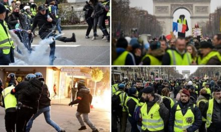 All Hell Breaks Loose in France After Yellow Vest Movement Founder Arrested