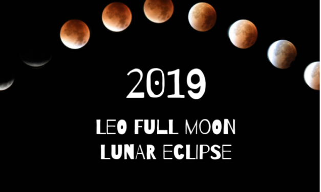 January 20-21, 2019 LEO FULL MOON LUNAR ECLIPSE
